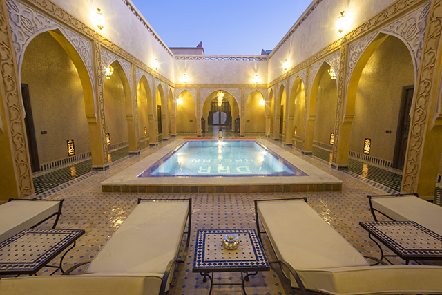 Refreshing swimming pool at Riad Dar Hassan - photo by Ezyê Moleda