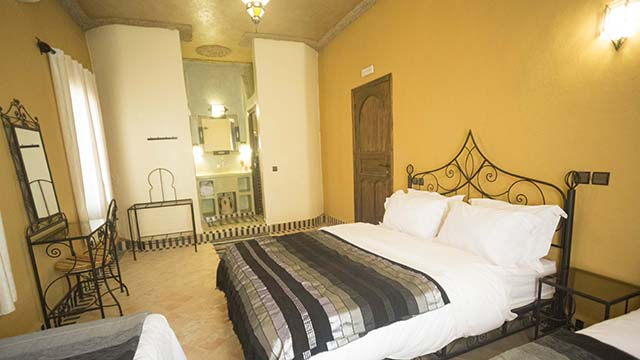 Accommodations Ouarzazate Quadruple Room overview