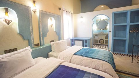 Accommodations Chefchaoune Room overview
