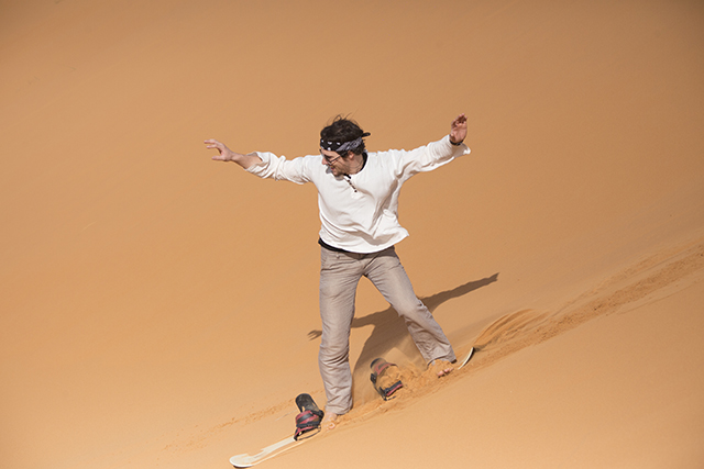 Actividades del Riad Dar Hassan - Sandboarding - foto de Ezyê Moleda, todos los derechos reservados