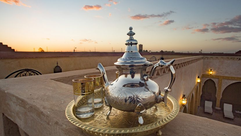 Gallery Riad Dar Hassan Mint Tea - photo by Ezyê Moleda all rights reserved