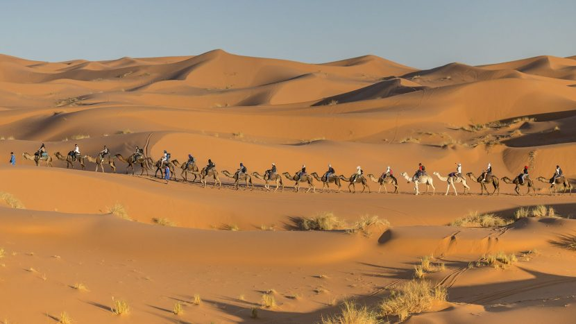 Riad Dar Hassan Camel Caravan Merzouga Desert - photo by Ezyê Moleda
