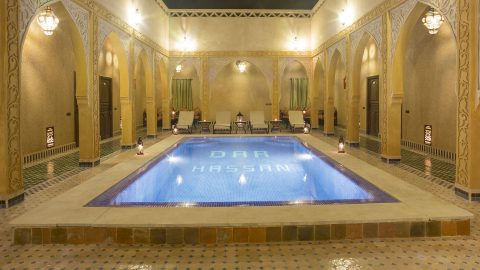 Who we are Riad Dar Hassan pool